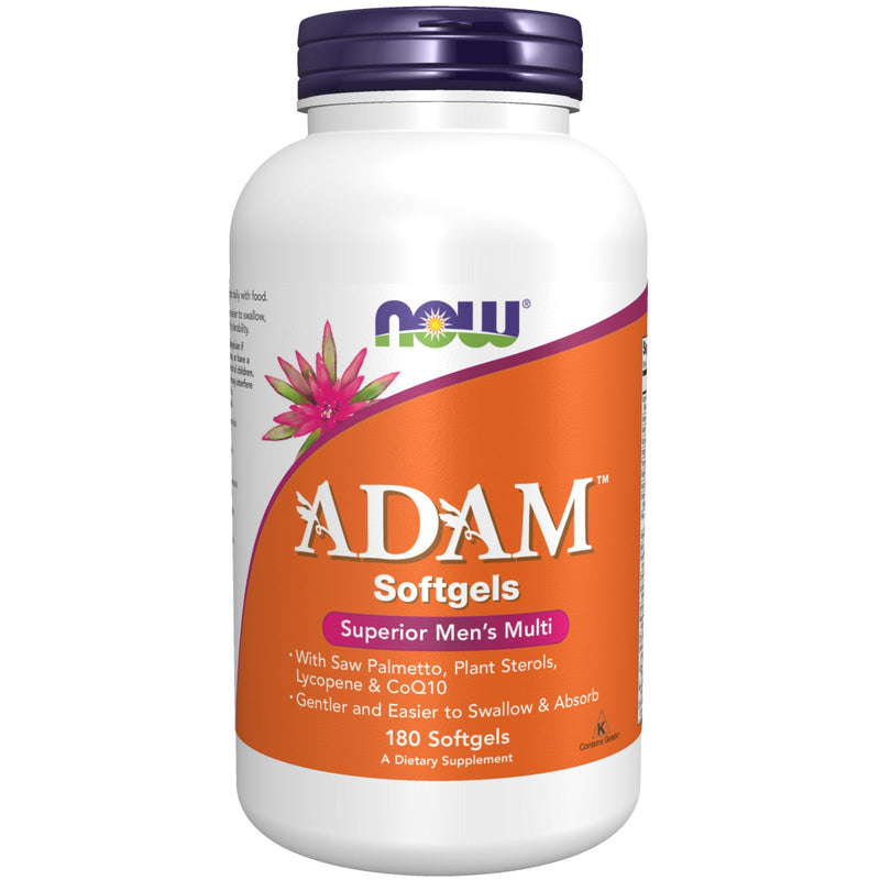 Now ADAM Superior Men's Multiple Vitamin - 180 Softgels