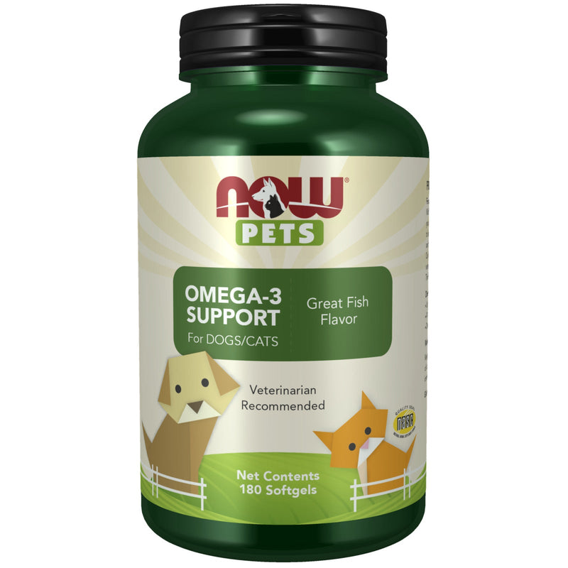 Now Foods Omega-3 Support Softgels for Dogs & Cats