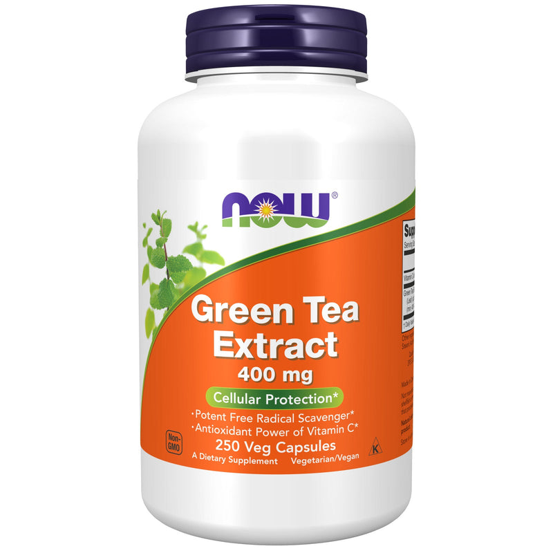 Green Tea Extract 400 mg - 250 Vegetable Capsules
