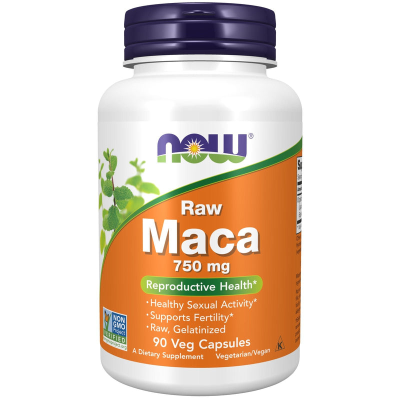 Now Foods Organic Maca Concentrate 750 mg - 90 VCaps