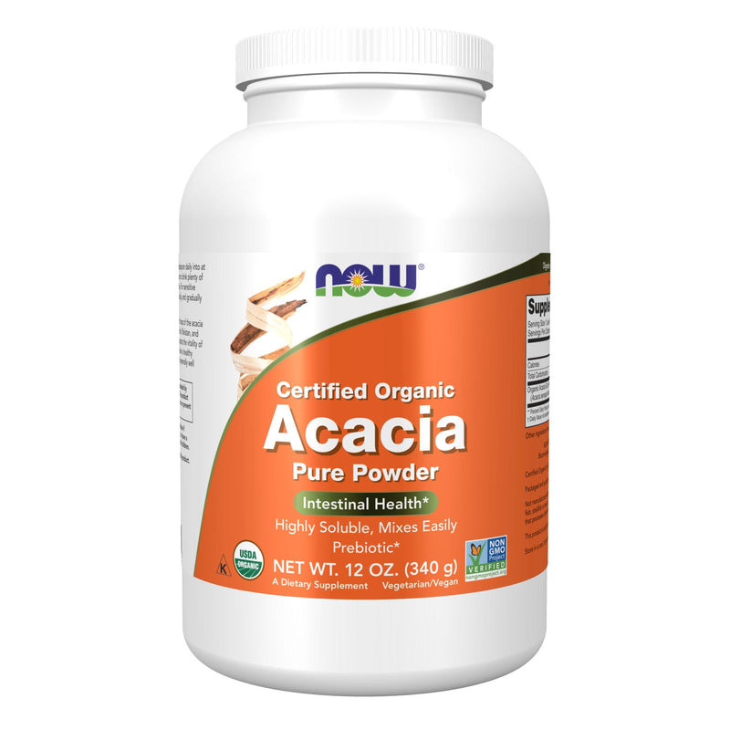 Now Foods Acacia Fiber Organic Powder - 12 oz.