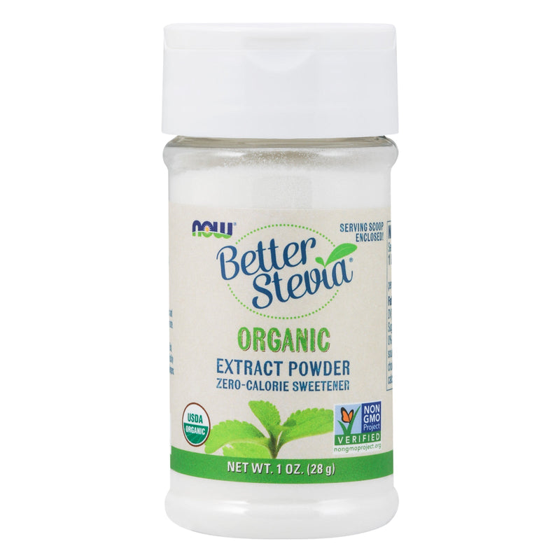 Now Foods BetterStevia Extract Powder, Organic - 1 oz.