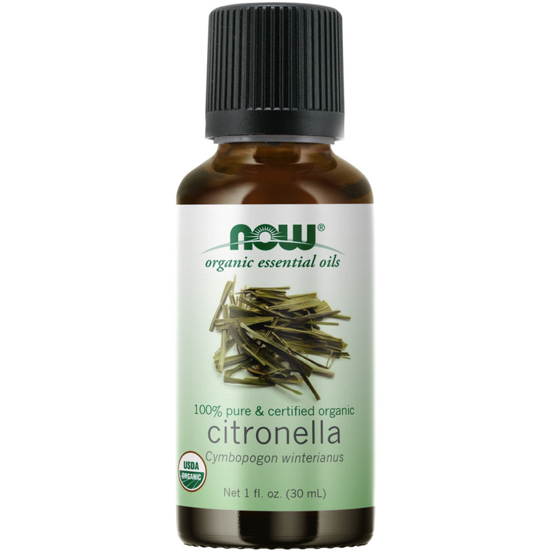 Now Foods Citronella, Certified Organic - 1 oz.