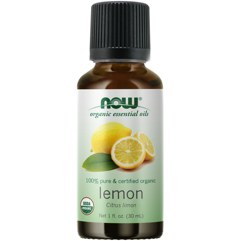 Now Foods Lemon Oil (Certified Organic) - 1 oz.