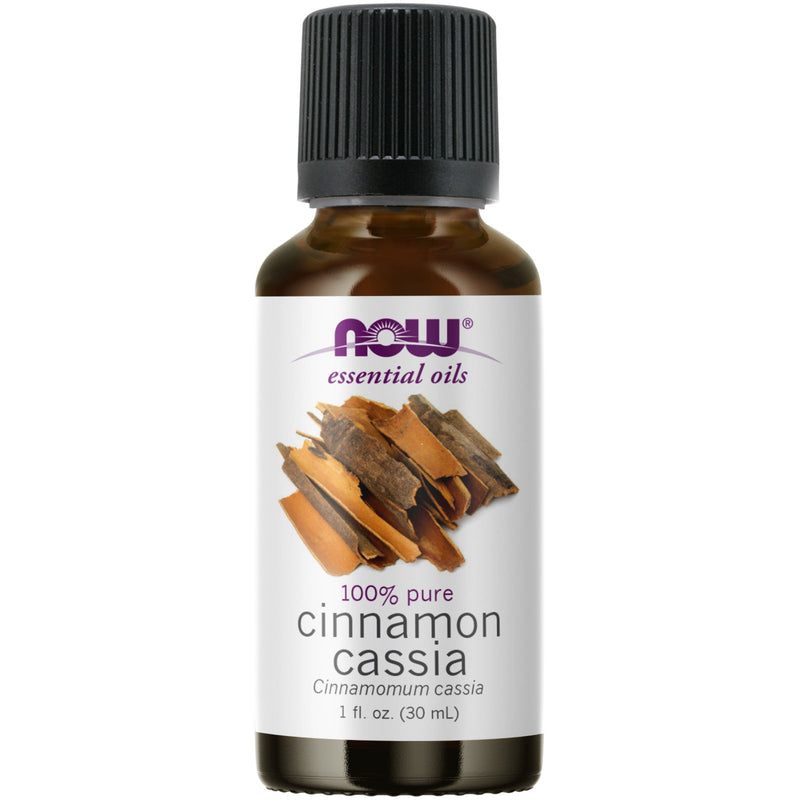 Now Foods Cinnamon Cassia Oil - 1 oz.