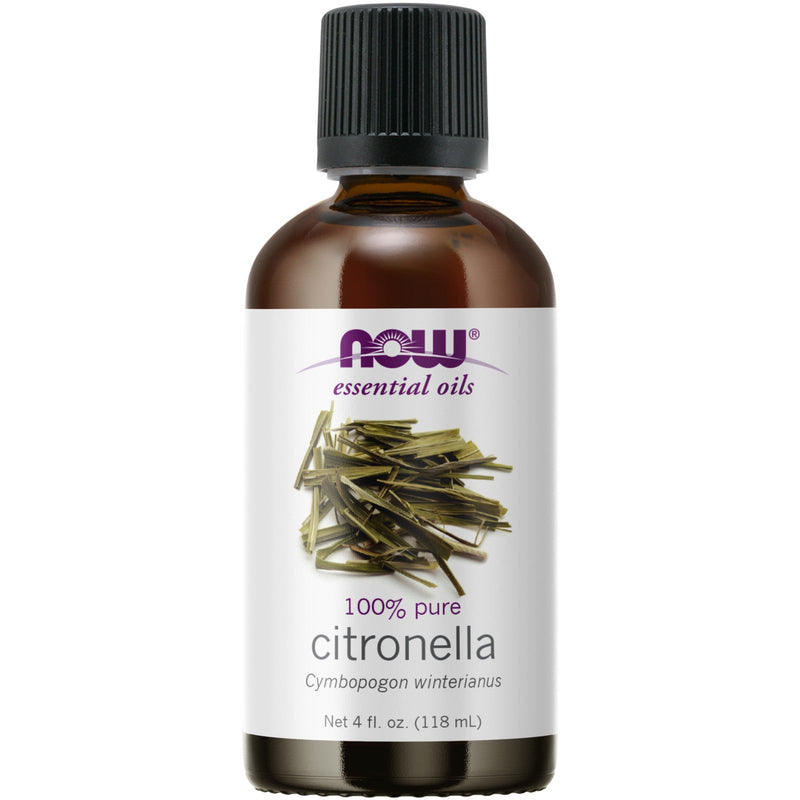 Now Foods Citronella Oil - 4 oz.