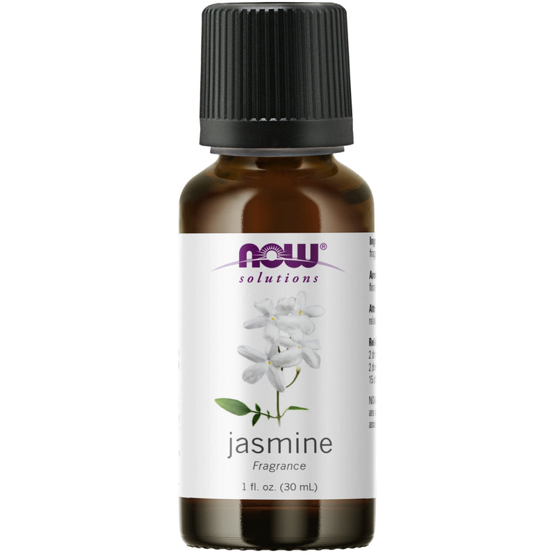 Now Foods Jasmine Oil - 1oz (with other fragrances)