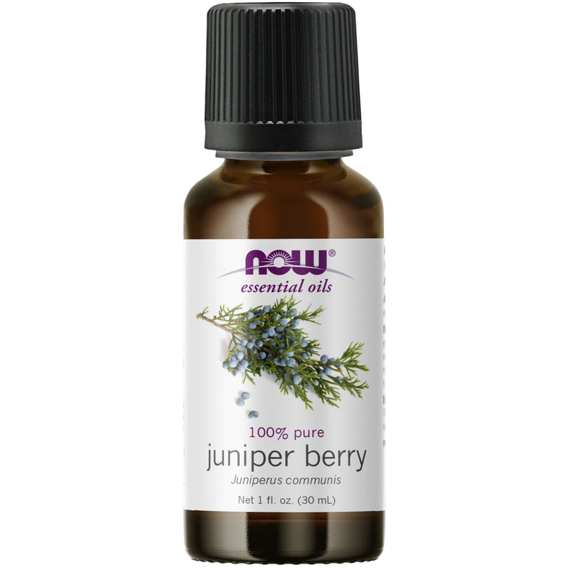 Now Foods 100% Pure & Natural Juniper Berry Oil - 1 oz