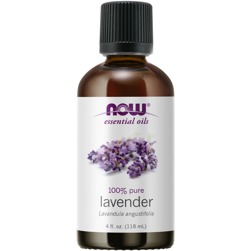 Now Foods 100% Pure Lavender Essential Oil - 4 oz