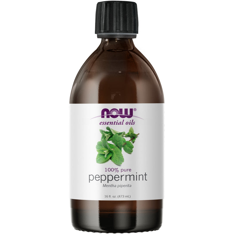 Now Foods 100% Peppermint Oil - 16 fl oz.