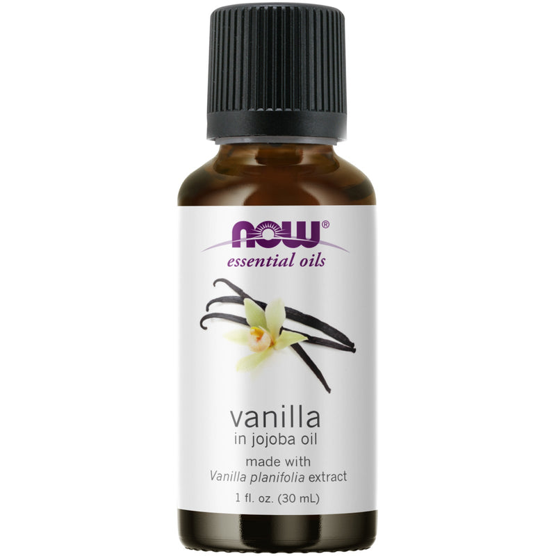 Now Foods Vanilla Oil - 1 oz