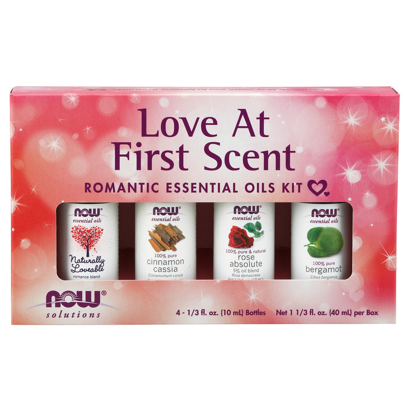 Now Foods Love At First Scent Essential Oils Kit