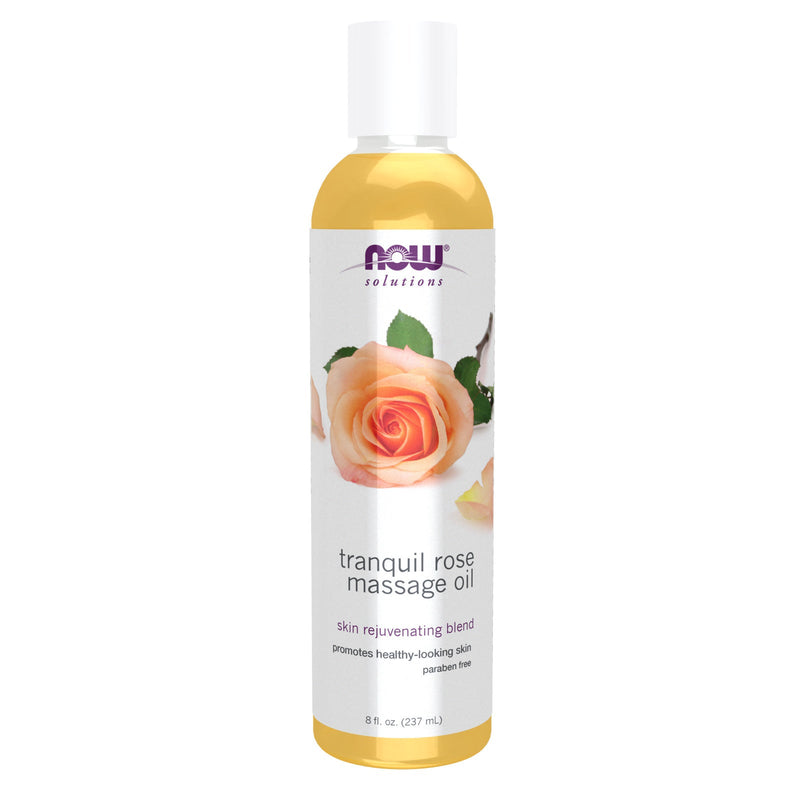 Now Foods Tranquil Rose Massage Oil - 8 fl. oz.