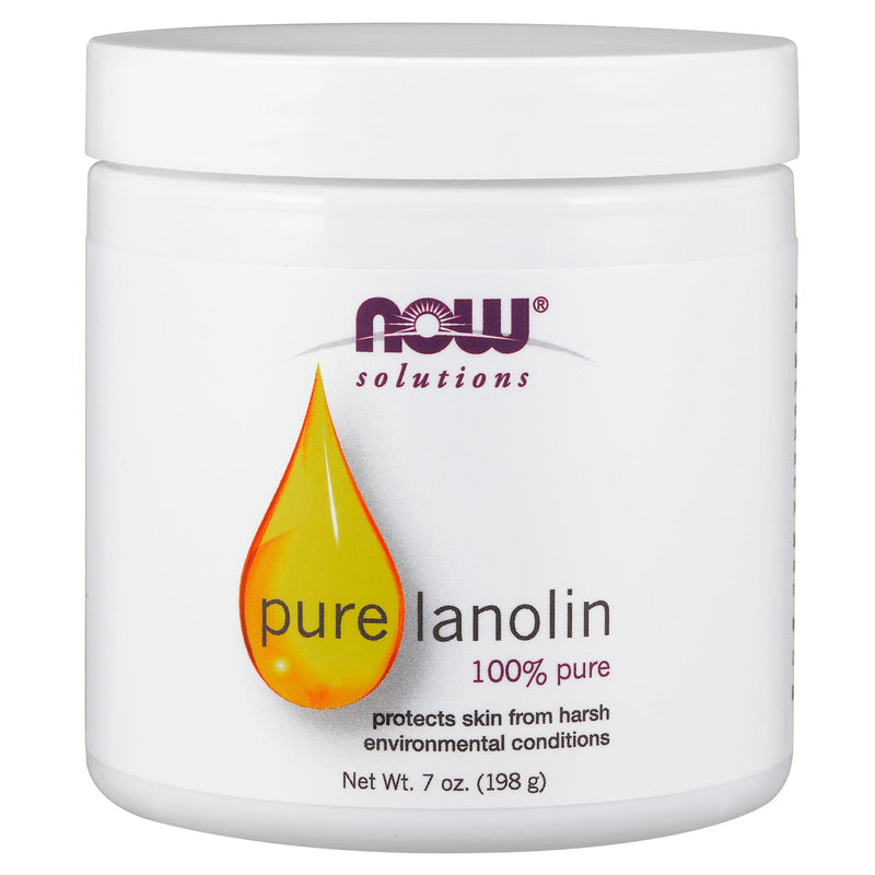 Now Foods 100% Pure Lanolin - 7 oz.