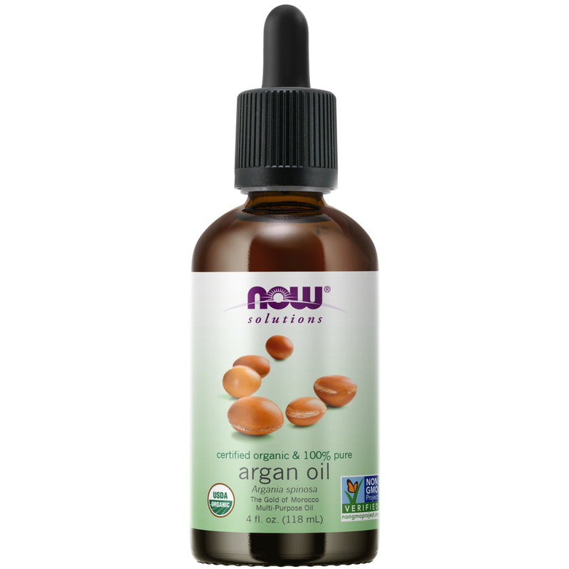 Now Foods 100% Pure Certified Organic Argan Oil 4 oz