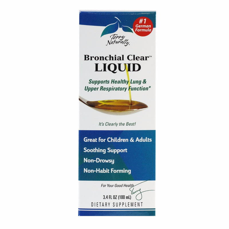 Terry Naturally Bronchial Clear Liquid, 3.4 oz Liquid