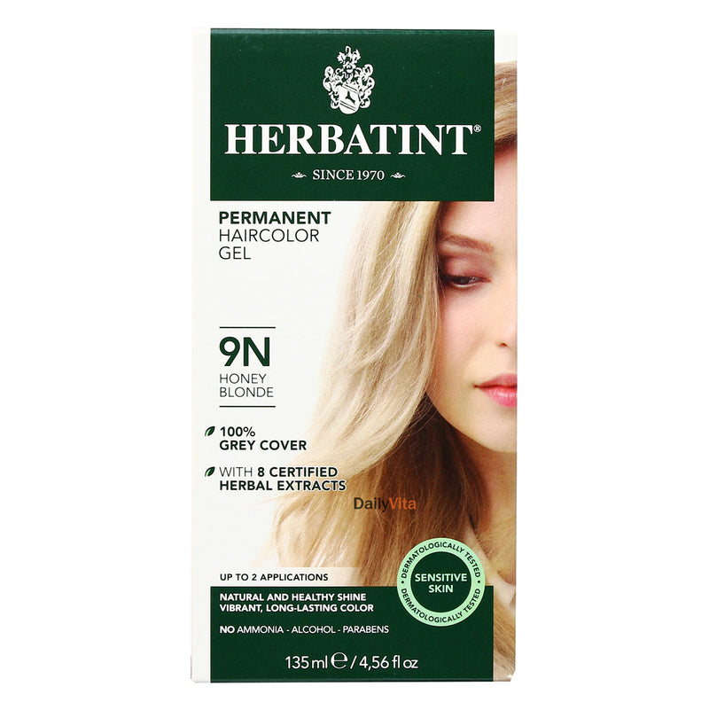 Herbatint Permanent Hair Color Gel - 9N Honey Blonde