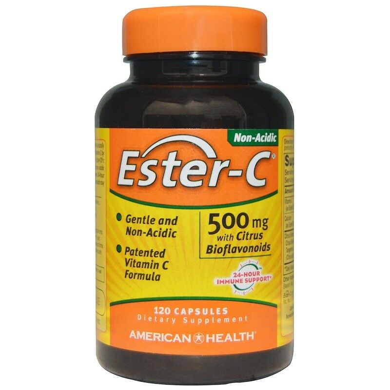 American Health Ester-C with Citrus Bioflavonoids 500mg  120Cap