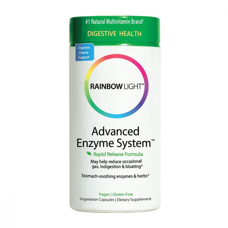 Rainbow Light Advanced Enzyme System - 90 Capsule