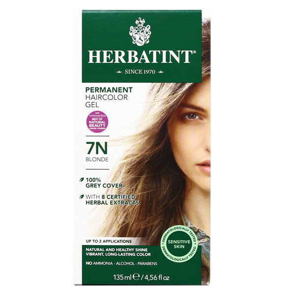 Herbatint Permanent Hair Color Gel - 7N Blonde (CLEARANCE)