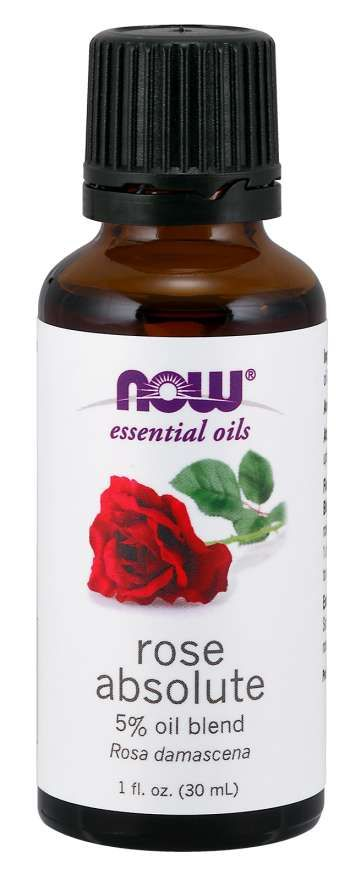 Now Foods Essential Oil Bundle: Things Are Just Rosey (Geranium, Rose)