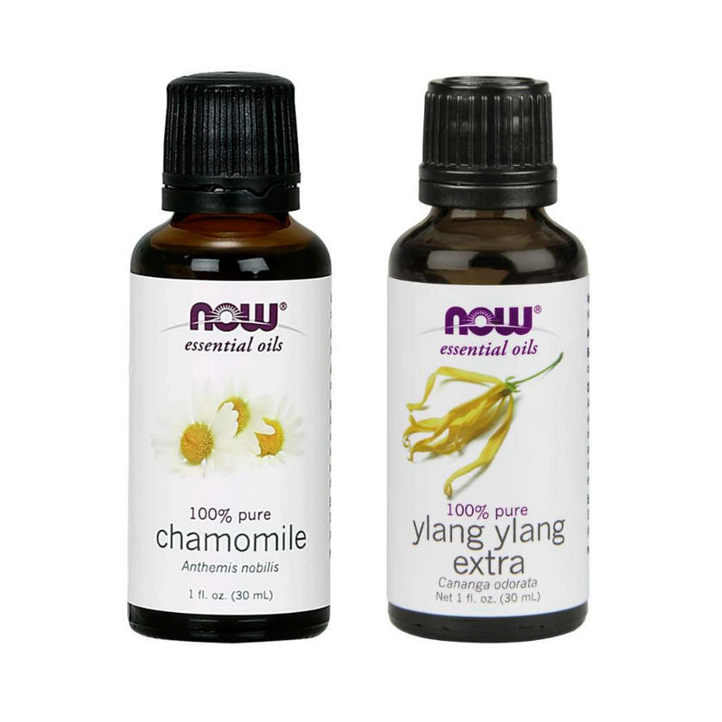 Now Foods Essential Oil Bundle: Making Sweet Scents (Ylang Ylang, Chamomile)