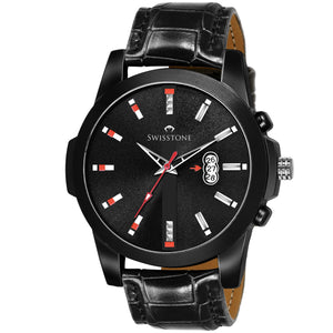 SWISSTONE BK475-BLK Wrist Watch for Men