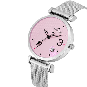 Swisstone CK340-PNK-CH Wrist Watch for Women