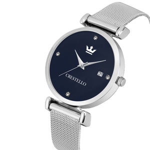 Crestello L105-BLU-CH Wrist Watch for Women