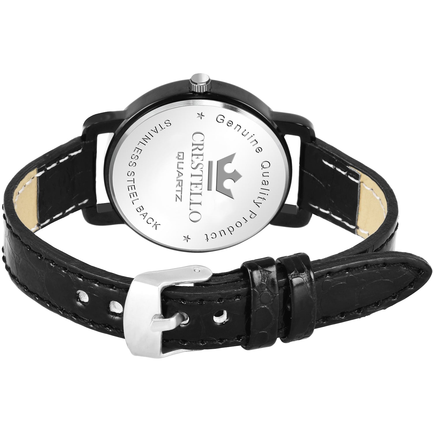 Crestello L107-BLK Wrist Watch for Women