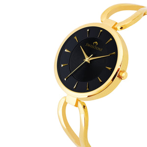 Swisstone DZL351-BLKGLD Wrist Watch for Women