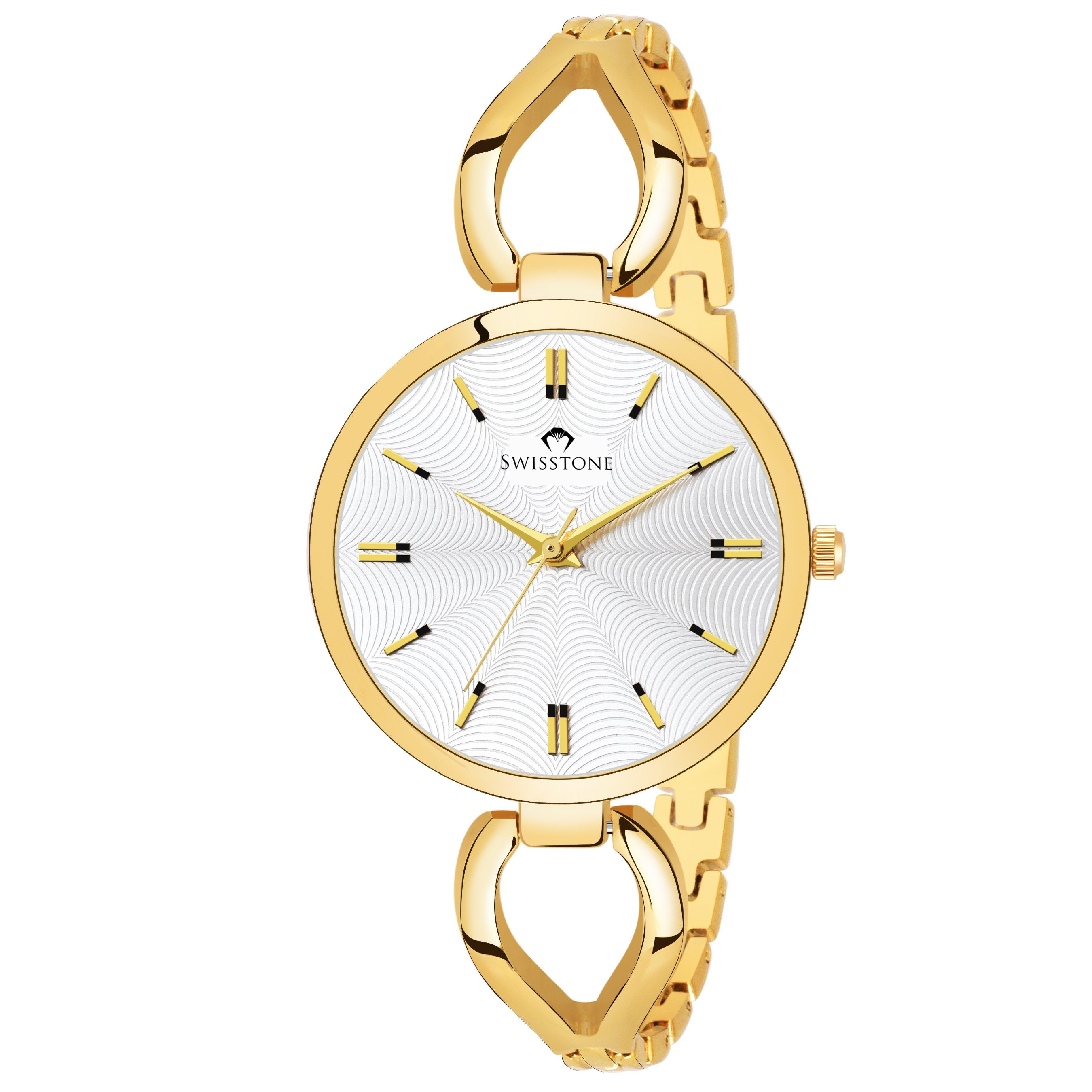 Swisstone DZL352-WHTGLD Wrist Watch for Women