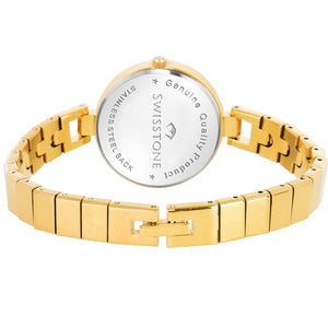 Swisstone JEWELS149-BLU-GLD Wrist Watch for Women