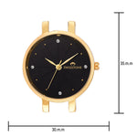 Load image into Gallery viewer, Swisstone JEWELS068-BLKGLD Wrist Watch for Women