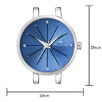 Load image into Gallery viewer, Swisstone JEWELS068-BLUSLV Wrist Watch for Women