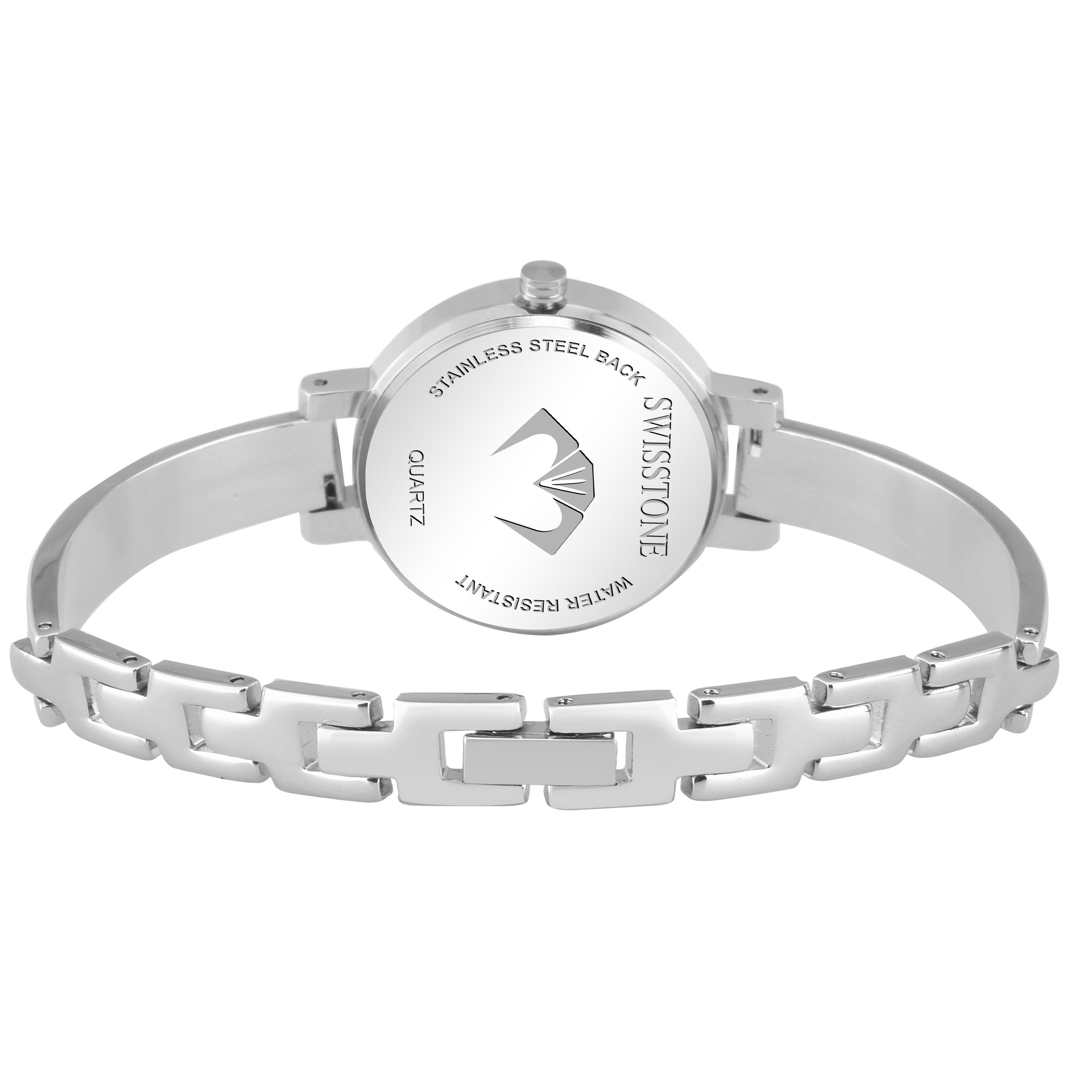 Swisstone JEWELS068-PNKSLV Wrist Watch for Women