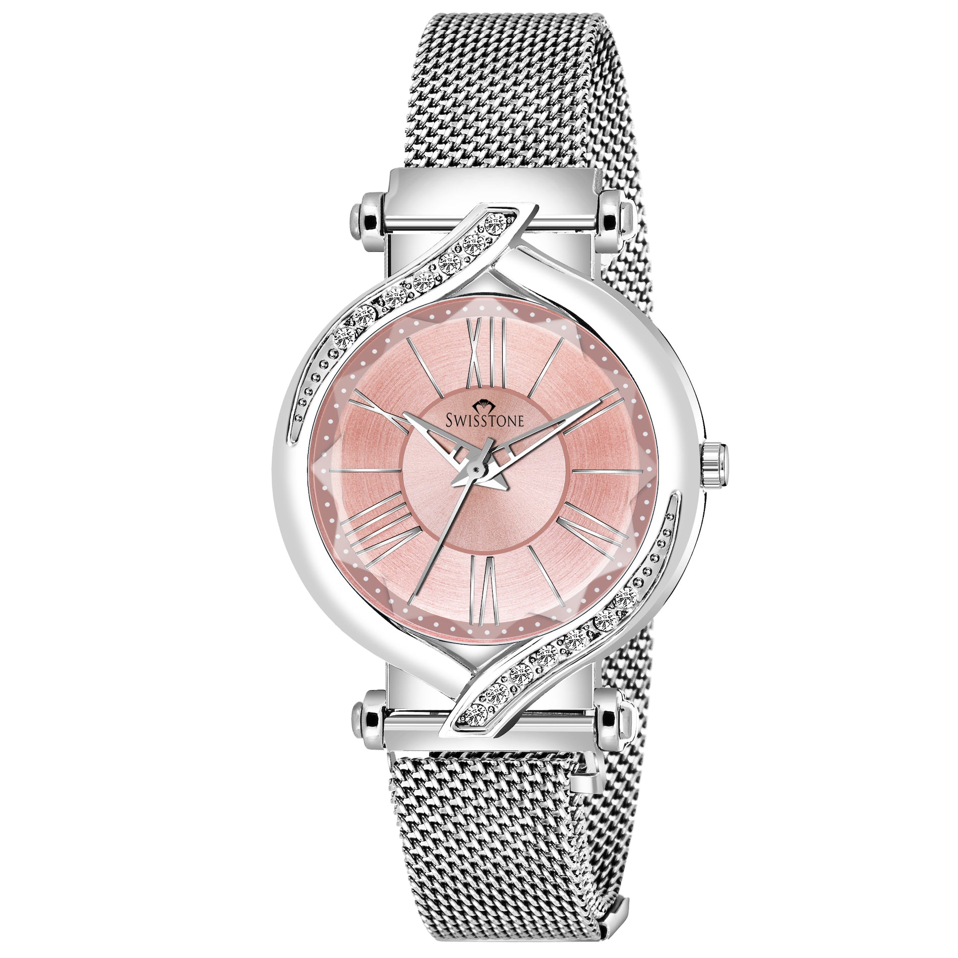 SWISSTONE L241-PNK-CH Wrist Watch for Women