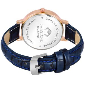 Swisstone RG251-BLUE-S Wrist Watch for Women