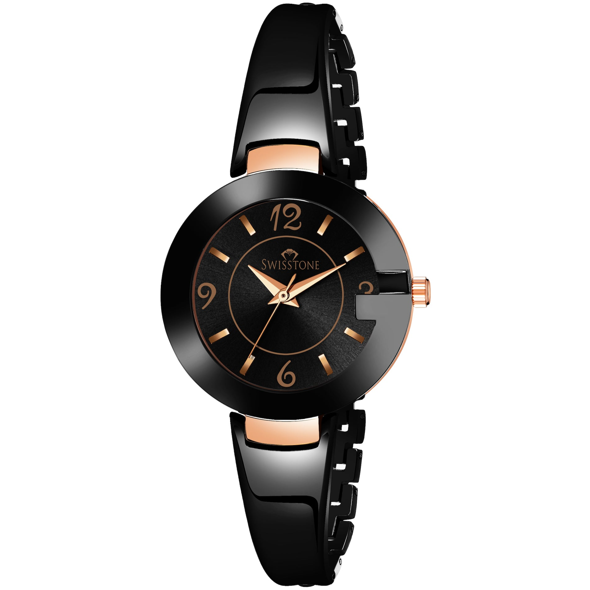 Swisstone SW-BK176-BLK Wrist Watch for Women