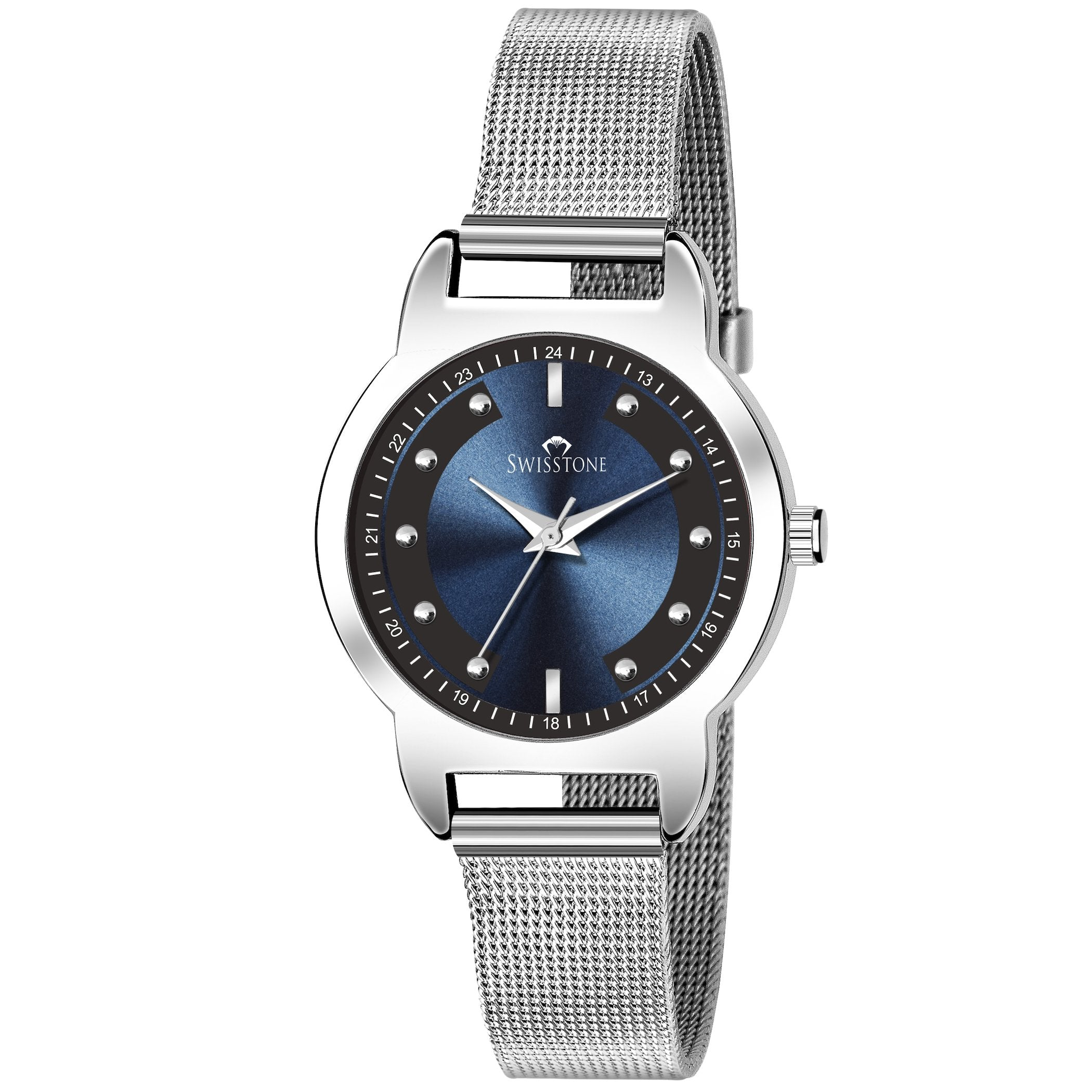 Swisstone SW-L143-BLU-CH Wrist Watch for Women