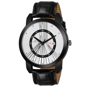 Swisstone SW050-WHT-BLK Wrist Watch for Men
