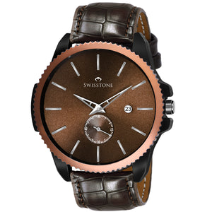 SWISSTONE SW465-BRWN Wrist Watch for Men