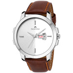 Load image into Gallery viewer, Swisstone WT385-SLV-BRW Wrist Watch for Men