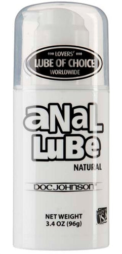 Anal Lube - Natural Lubricant - 3.4 Oz. DJ1315-05-BU