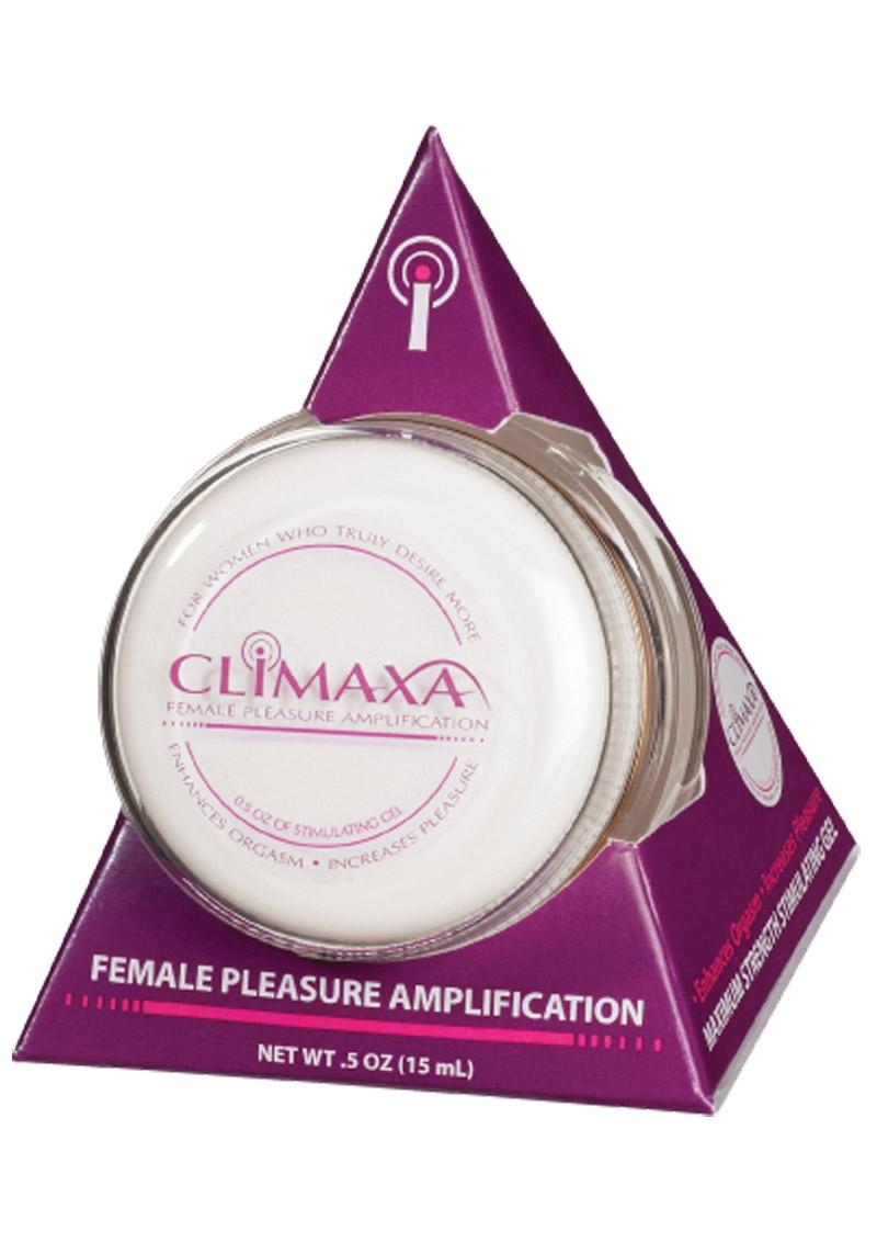 Climaxa Pleasure Amplification Gel For Women 5 Ounce Jar