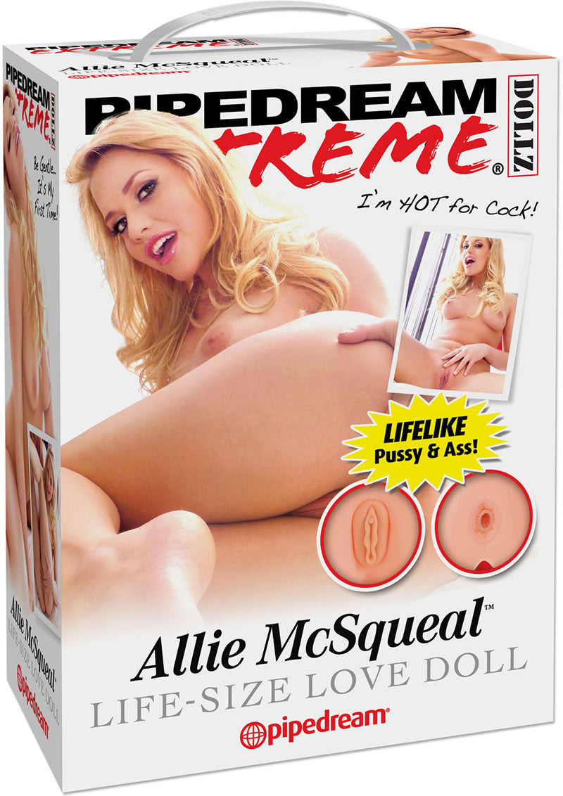 Pipedream Extreme Dollz Allie Mcsqueal Life Size Blow Up Love Doll Flesh