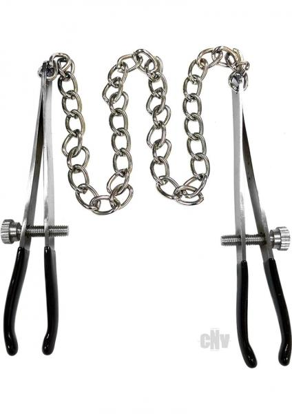 Rouge Tweezer End Nipple Chain Clamps
