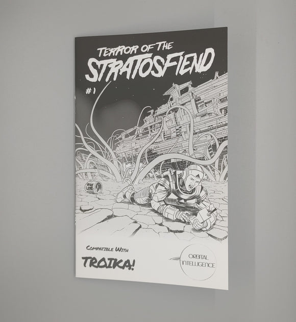 Terror of the Stratosfiend #1 (Troika)