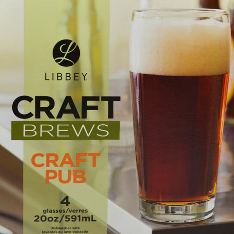 Libbey Craft Beers Glass Set 4pk