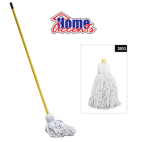 Home Accents Cotton Mop W/Stick 380gm
